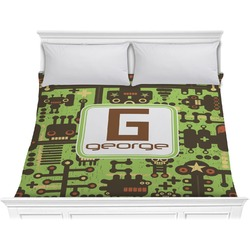 Industrial Robot 1 Comforter - King (Personalized)