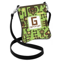 Industrial Robot 1 Cross Body Bag - 2 Sizes (Personalized)