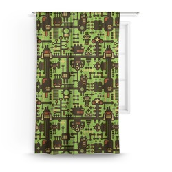 Industrial Robot 1 Curtain (Personalized)
