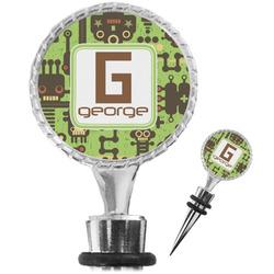 Industrial Robot 1 Wine Bottle Stopper (Personalized)