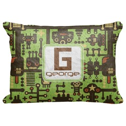 "Industrial Robot 1 Decorative Baby Pillowcase - 16""x12"" (Personalized)"