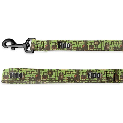 Industrial Robot 1 Deluxe Dog Leash (Personalized)