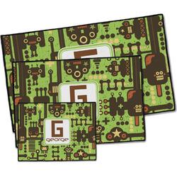 Industrial Robot 1 Door Mat (Personalized)