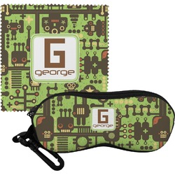 Industrial Robot 1 Eyeglass Case & Cloth (Personalized)