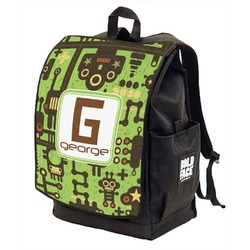 Industrial Robot 1 Backpack w/ Front Flap  (Personalized)