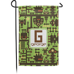 Industrial Robot 1 Garden Flag - Single or Double Sided (Personalized)