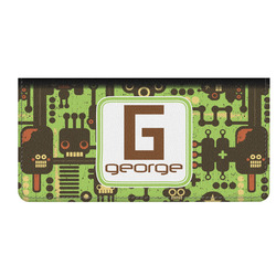 Industrial Robot 1 Genuine Leather Checkbook Cover (Personalized)