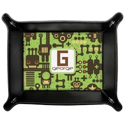 Industrial Robot 1 Genuine Leather Valet Tray (Personalized)