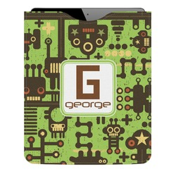 Industrial Robot 1 Genuine Leather iPad Sleeve (Personalized)