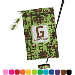 Industrial Robot 1 Golf Towel Gift Set (Personalized)