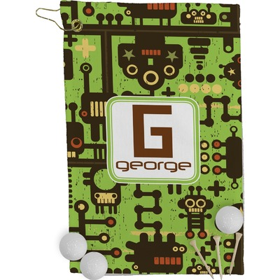Industrial Robot 1 Golf Towel - Full Print (Personalized)