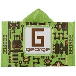 Industrial Robot 1 Kids Hooded Towel (Personalized)