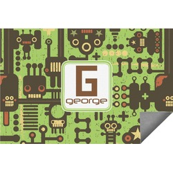 Industrial Robot 1 Indoor / Outdoor Rug (Personalized)