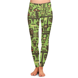 Industrial Robot 1 Ladies Leggings (Personalized)