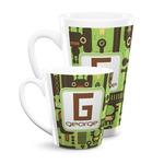 Industrial Robot 1 Latte Mug (Personalized)