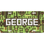 Industrial Robot 1 Front License Plate (Personalized)