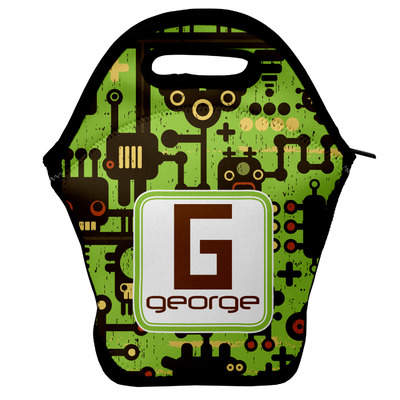 Industrial Robot 1 Lunch Bag (Personalized)