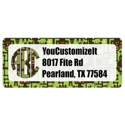 Industrial Robot 1 Return Address Labels (Personalized)