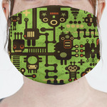Industrial Robot 1 Face Mask Cover (Personalized)