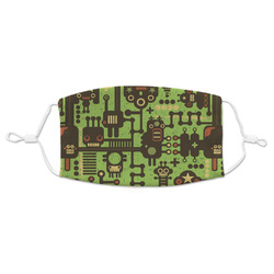 Industrial Robot 1 Adult Cloth Face Mask (Personalized)