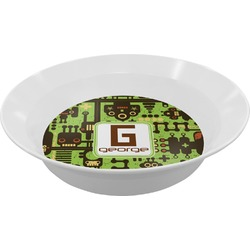 Industrial Robot 1 Melamine Bowl (Personalized)