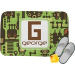 Industrial Robot 1 Memory Foam Bath Mat (Personalized)