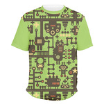 Industrial Robot 1 Men's Crew T-Shirt (Personalized)