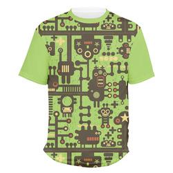 Industrial Robot 1 Men's Crew T-Shirt (Personalized)