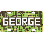 Industrial Robot 1 Mini / Bicycle License Plate (Personalized)