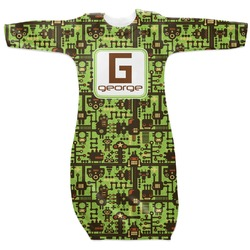 Industrial Robot 1 Newborn Gown - 3-6 (Personalized)