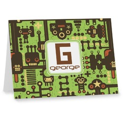 Industrial Robot 1 Notecards (Personalized)