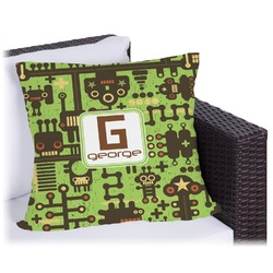 Industrial Robot 1 Outdoor Pillow (Personalized)
