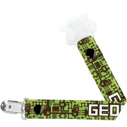 Industrial Robot 1 Pacifier Clips (Personalized)