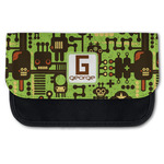 Industrial Robot 1 Canvas Pencil Case w/ Name and Initial