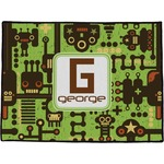 Industrial Robot 1 Door Mat (Personalized)