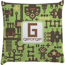 Industrial Robot 1 Euro Sham Pillow Case (Personalized)