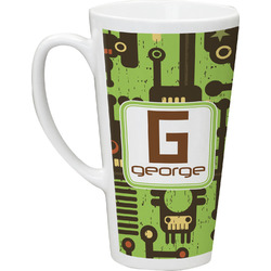 Industrial Robot 1 Latte Mug (Personalized)