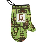 Industrial Robot 1 Right Oven Mitt (Personalized)