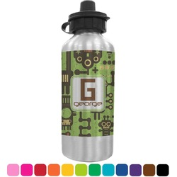 Industrial Robot 1 Water Bottle (Personalized)