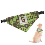 Industrial Robot 1 Dog Bandana (Personalized)