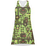 Industrial Robot 1 Racerback Dress (Personalized)