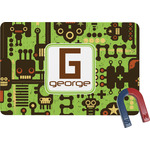 Industrial Robot 1 Rectangular Fridge Magnet (Personalized)