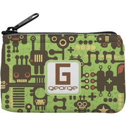 Industrial Robot 1 Rectangular Coin Purse (Personalized)