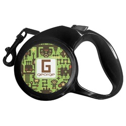 Industrial Robot 1 Retractable Dog Leash (Personalized)