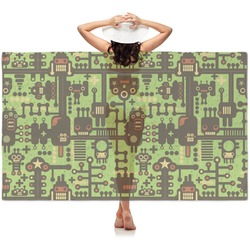 Industrial Robot 1 Sheer Sarong (Personalized)
