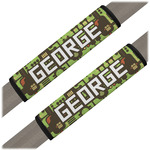 Industrial Robot 1 Seat Belt Covers (Set of 2) (Personalized)