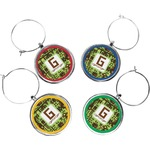 Industrial Robot 1 Wine Charms (Set of 4) (Personalized)