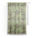 Industrial Robot 1 Sheer Curtains (Personalized)