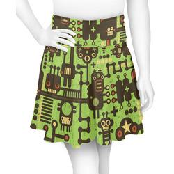 Industrial Robot 1 Skater Skirt (Personalized)