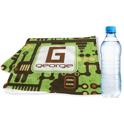 Industrial Robot 1 Sports Towel (Personalized)